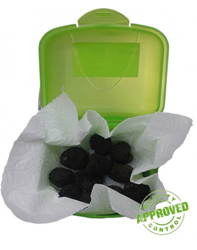 Black truffles for dog training
