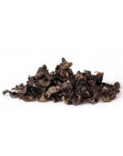 Dried black winter truffles Melanosporum Dried truffles image