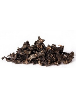 Dried black winter truffles Tuber Brumale