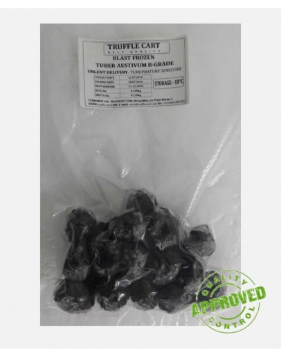 Frozen black summer truffles B-grade Frozen Truffles image