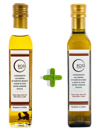 Pack black and white truffle oil