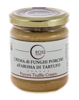 Ceps truffle cream